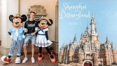 Shanghai Vlog: First time at Shanghai Disneyland - Vlog 1