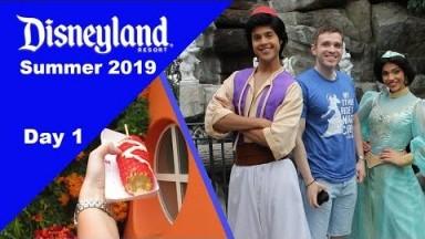 Disneyland Vlog Summer 2019 - Travel Day, Treats, and the Grand Californian Hotel