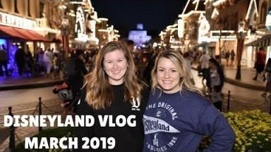 DISNEYLAND VLOG MARCH 2019