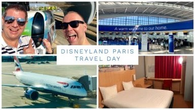 Disneyland Paris Vlog - August 2019 - Travel Day