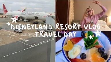 Disneyland Vlog | February 2020 | Travel Day