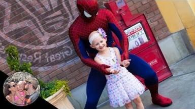THE CUTEST SPIDER-MAN MEET & GREET EVER!! | DISNEYLAND VLOG #108