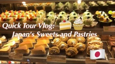 Quick Tour on Japan's Cakeshops | Cakes, Desserts and more...