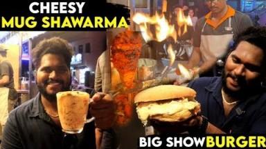 Chennai's First Bucket Shawarma & Chessy Mug Shawarma - Dessert Shawarma