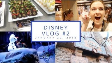 Disney Vlog Day 2 | Garden Grill, Pick a Pearl, + Happily Ever After Dessert Party | Jan. 22, 2018